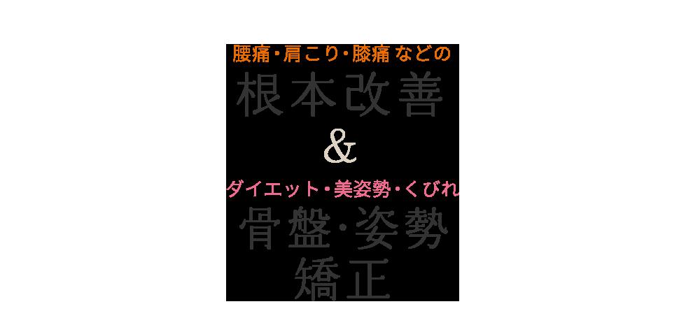 成田で口コミ1位の整体・骨盤矯正なら「おかの整骨院」 メインイメージ